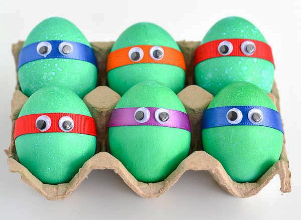 Яйца - черепашки ниндзя