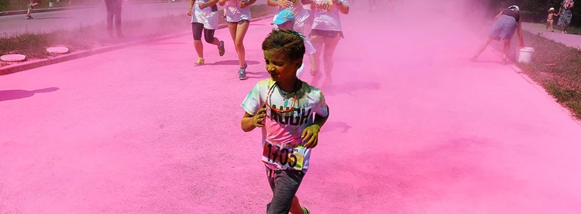 Цветной марафон